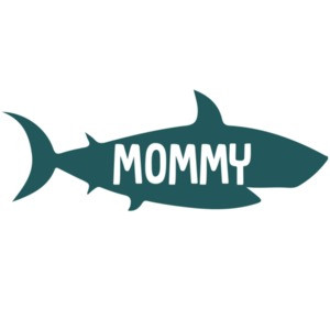 Mommy - Shark Family T-Shirt