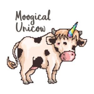 Moogical Unicow Cute T-Shirt