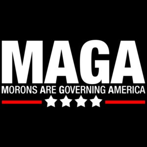Morons Are Governing America Anti Trump Maga T-shirt