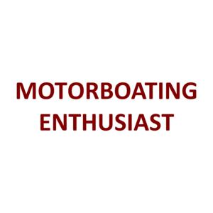 MOTORBOATING ENTHUSIAST Shirt