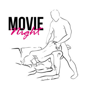 Movie Night - Sexual Offensive T-Shirt