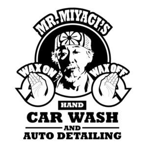 Mr. Miyagi's Hand Car Wash and Auto Detailing - Funny Karate Kid T-Shirt