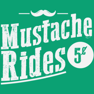 Mustache Rides 5 cents - funny offensive sexual t-shirt