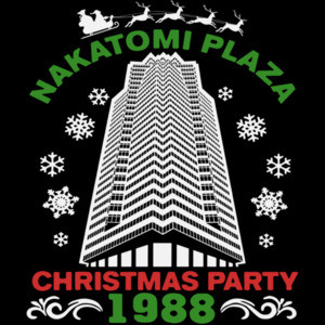 Nakatomi Corporation Christmas Party 1988 - Die Hard - Funny T-Shirt