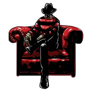 Nighmare On Elm Street Freddy Stylized T-Shirt