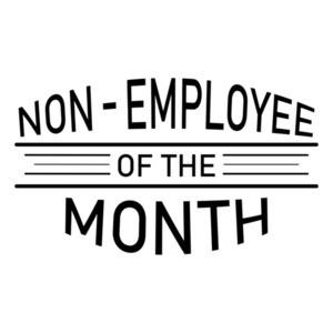 Non-Employee of the month - Covid-19 coronavirus t-shirt