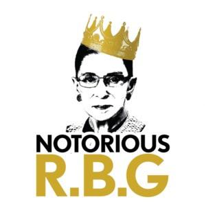 Notorious R.B.G - Ruth Bader Ginsberg T-Shirt