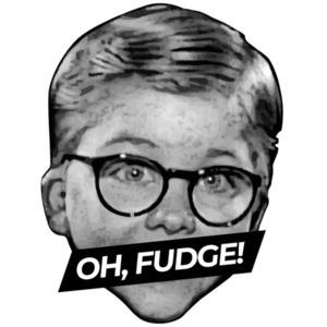 Oh Fudge - A Christmas Story - 80's T-Shirt