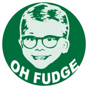Oh Fudge - A Christmas Story Kids Shirt
