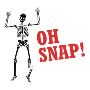 Oh Snap! Funny Halloween T-Shirt