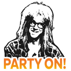 Party on! Garth - Wayne's World - 90's T-Shirt