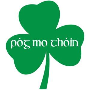 Póg mo thóin - Kiss My Ass - Funny Irish Gaelic T-Shirt