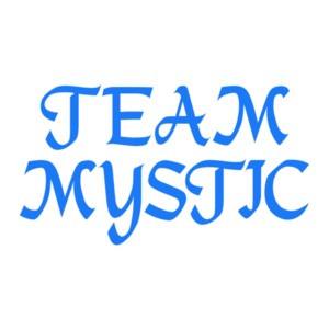 Pokemon Go Team Mystic (Text Only) Shirt