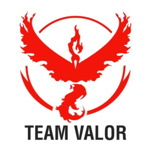 Pokemon Go Team Valor Shirt