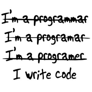 Programmer - I Write Code - Funny T-Shirt