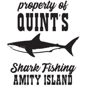 Property of Quint's Shark Fishing - Amity Island - Jaws T-Shirt