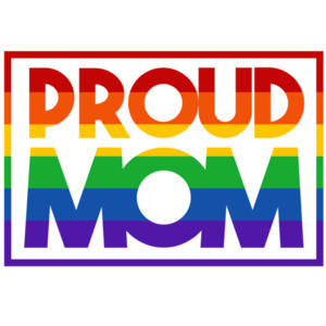 Proud Mom - Gay Pride T-Shirt