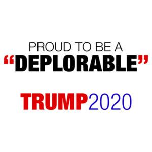 Proud To Be A Deplorable - Pro Trump Anti Hillary Shirt