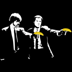 Pulp Fiction Banana T-Shirt