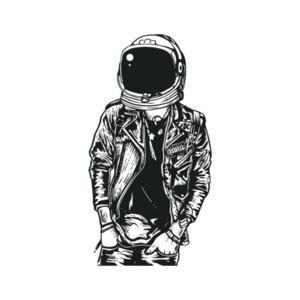 Punk Rock Astronaut T-Shirt