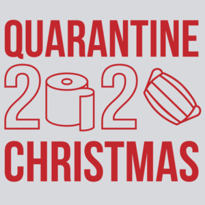 Quarantine Christmas 2020 - Toilet Paper & Facemask - Covid-19 - Christmas T-Shirt
