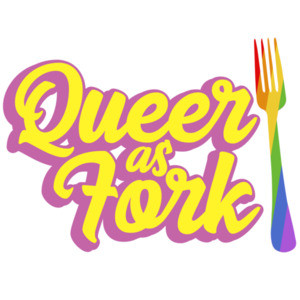 Queer as fork - funny gay pride t-shirt / LGBTQ T-Shirt