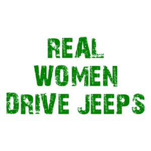 Real Women Drive Jeeps Shirt