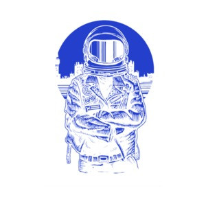 Rebel Astronaut T-Shirt