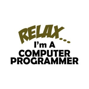 Relax I'm A Computer Programmer T-Shirt