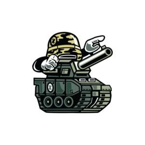 Retro Military Tank T-Shirt
