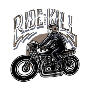 Ride To Kill Biking T-Shirt