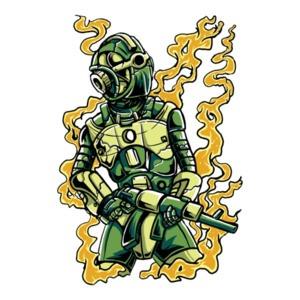 Robot Soldier T-Shirt