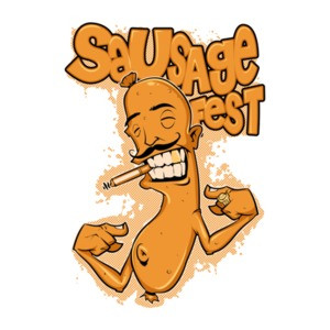 Sausage Fest Party T-Shirt