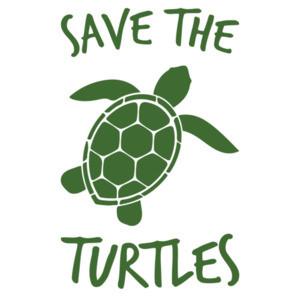 Save the turtles - VSCO girl t-shirt