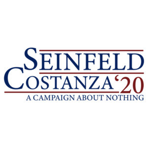 Seinfeld Costanza 2020 - A campaign about nothing - funny seinfeld election 2020 t-shirt