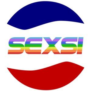 Sexsi Rainbow - Pepsi Parody - Gay Pride - Lesbian T-Shirt