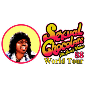 Sexual Chocolate - Mr. Randy Watson 88 World Tour - Coming To America - 80's T-Shirt
