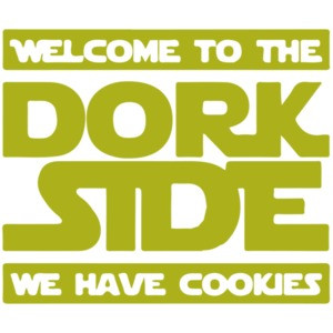 Star Wars Parody - Welcome to the dork side - we have cookies t-shirt