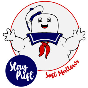 Stay Puft - Marshmallow Man - Ghostbusters T-Shirt - 80's T-Shirt