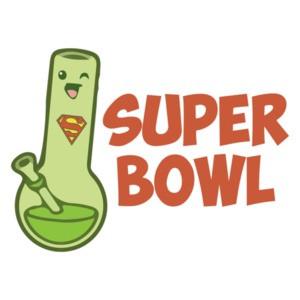 Super Bowl Marijuana Parody T-Shirt