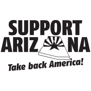 Support Arizona -Take Back America T-shirt