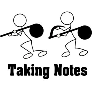 Taking Notes - Pun T-Shirt