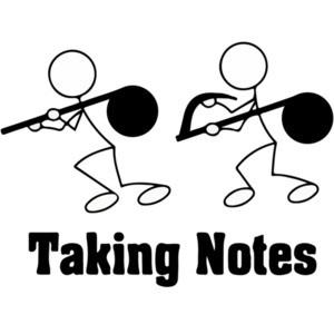 Taking Notes - Pun T-Shirt