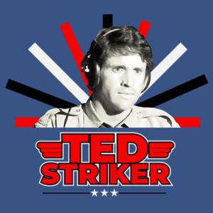 Ted Striker - Airplain Movie - 80's T-Shirt