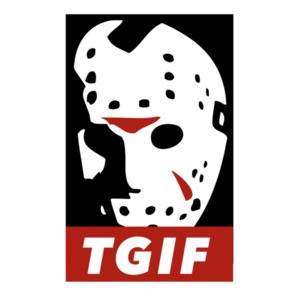 TGIF - Jason Voorhees - Friday the 13th t-shirt