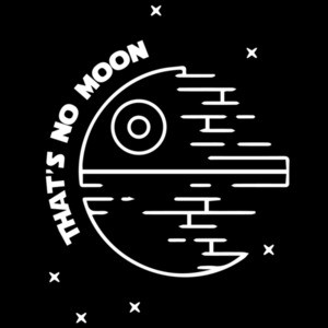 That's no moon - Star Wars T-Shirt