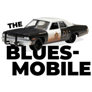 The Blues Mobile - The Blues Brothers - 80's T-Shirt