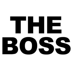 The Boss - Funny couple's t-shirt