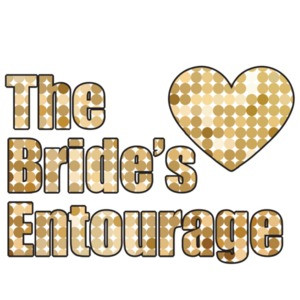 The bride's entourage - bachelorette t-shirt