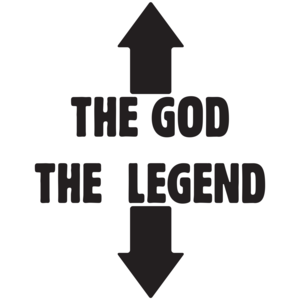 The God The Legend T-shirt